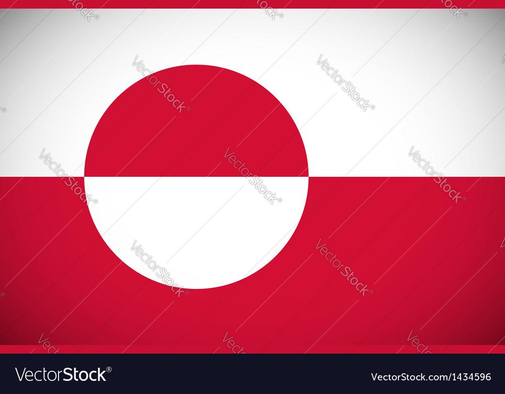 Flag greenland