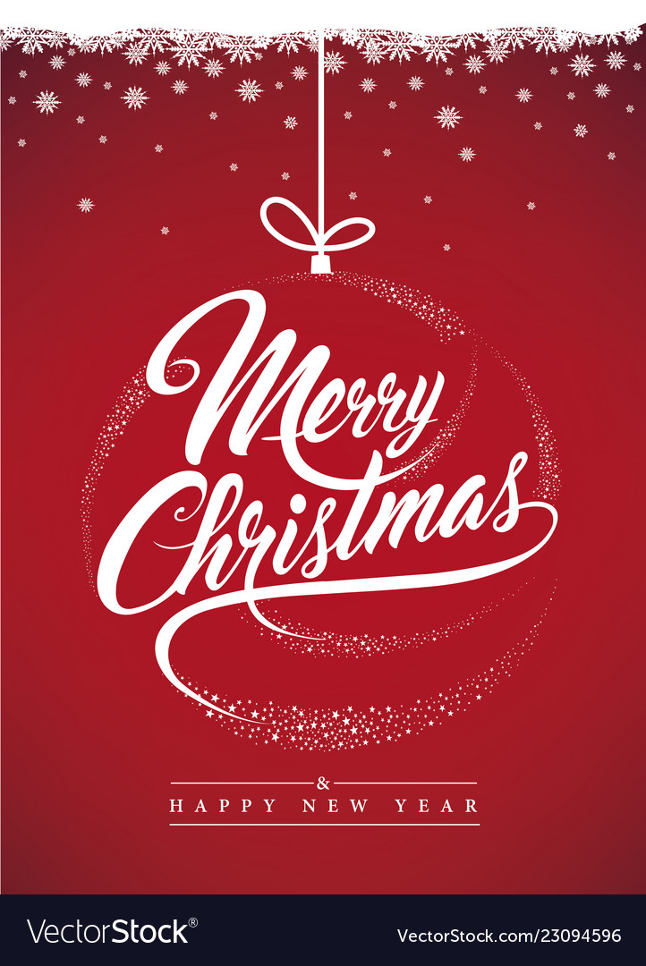 Merry christmas background-decoration