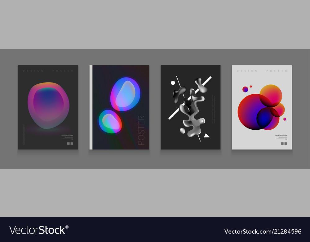 Stock color covers set fluid