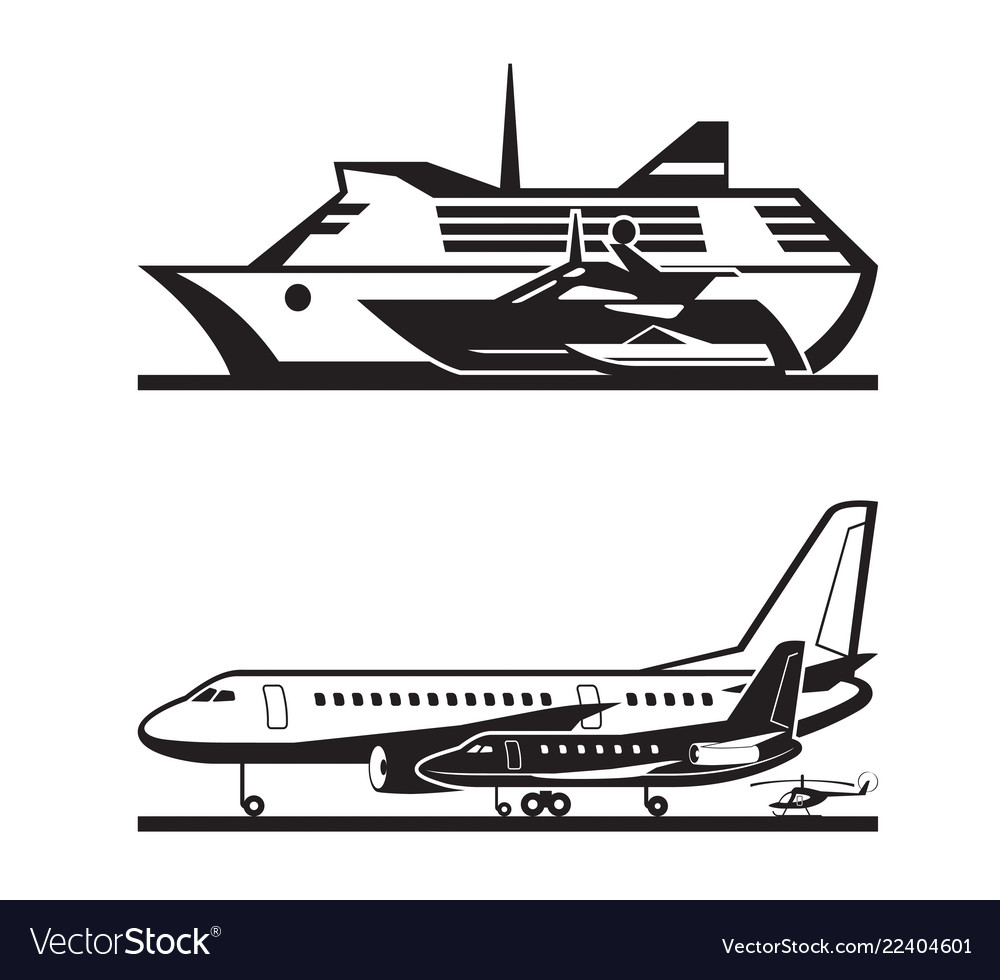 Passenger transport by sea and by air
