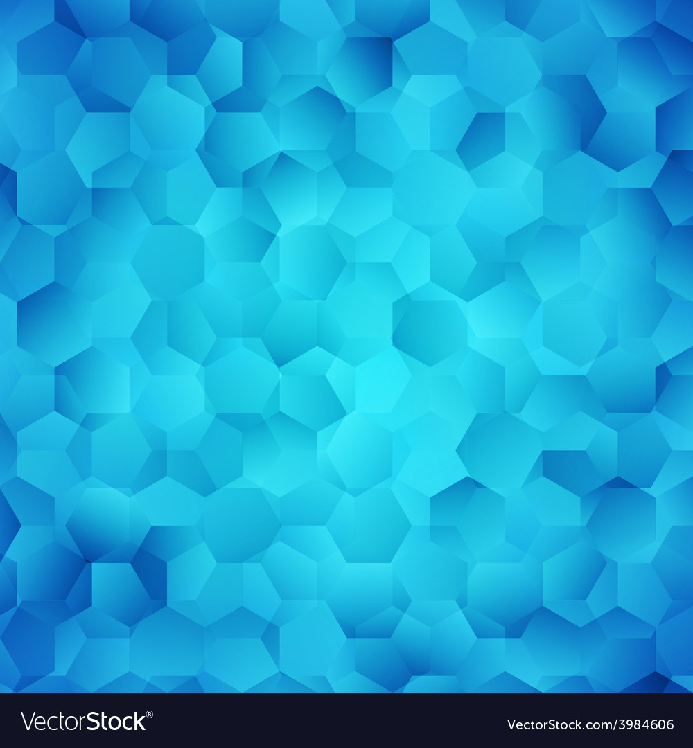 Abstract Bright Blue Wallpaper
