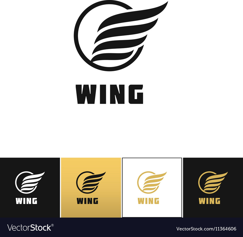 Business wing logo icon