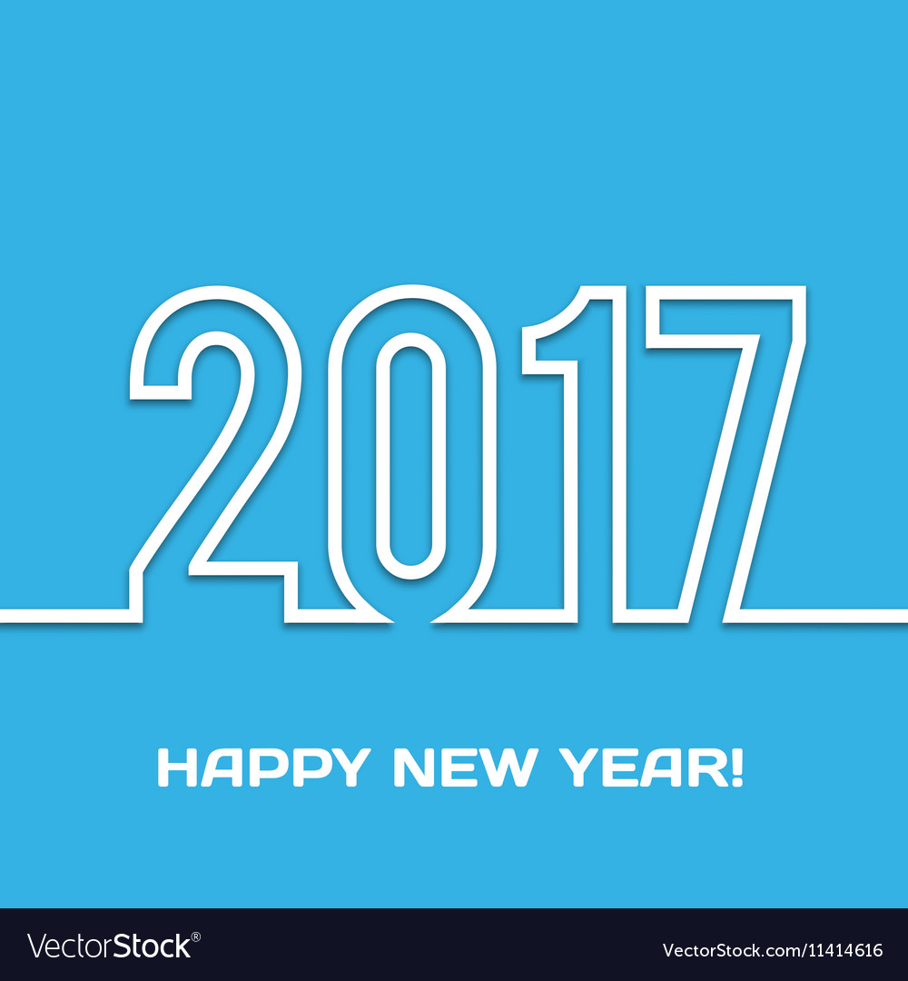 2017 Happy new year background