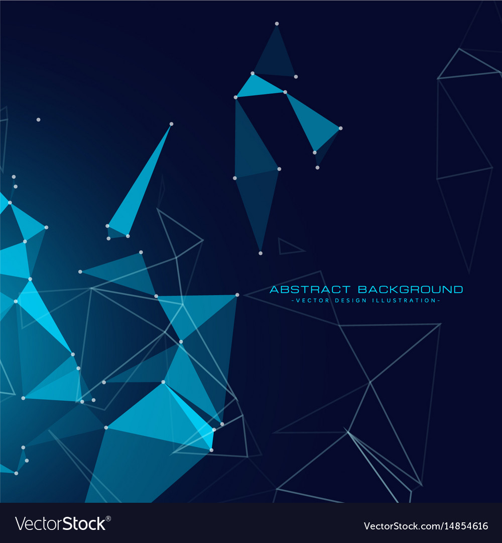 Digital technology background with floating vector image