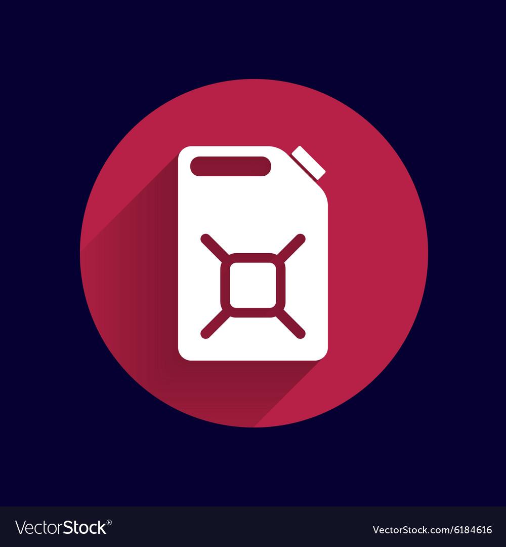 Engine oil icon button logo symbol concept