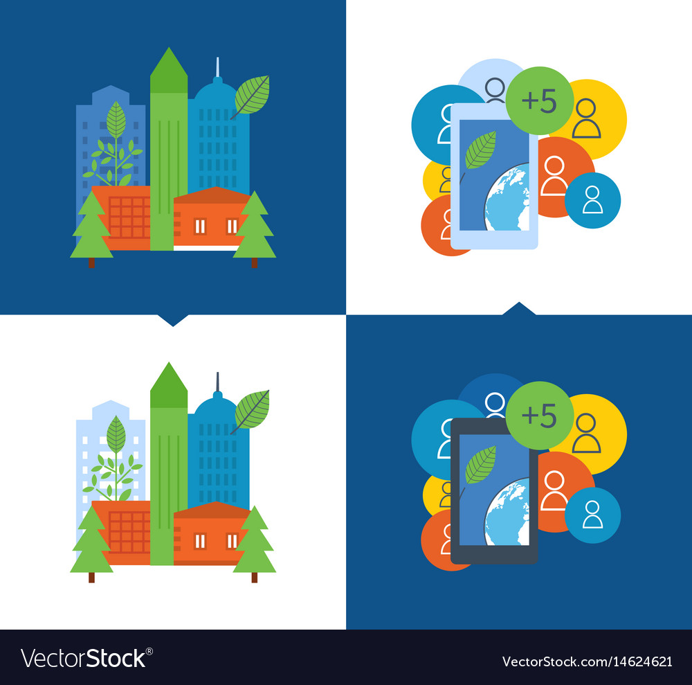 Ecological city settlement ecology protection