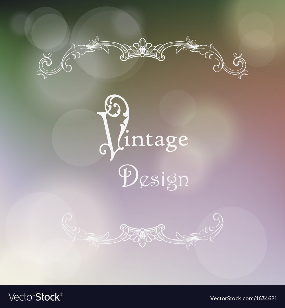 Vintage frame and grungy paper for design