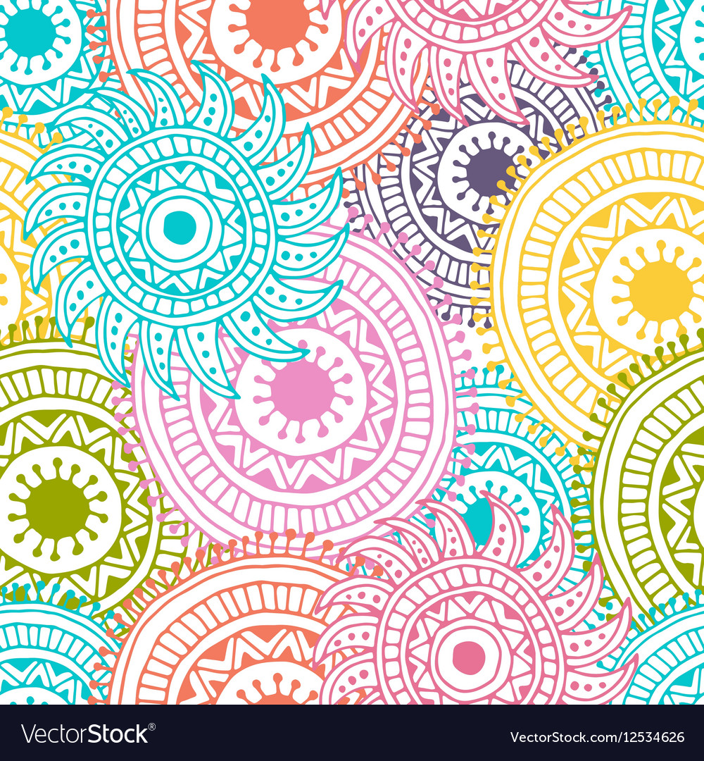 Abstract hand drawn background Zentangle