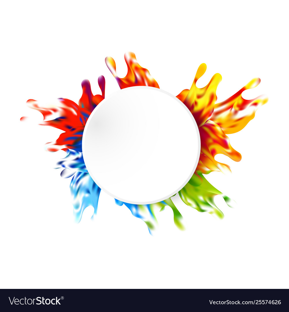 Abstract paint color design background