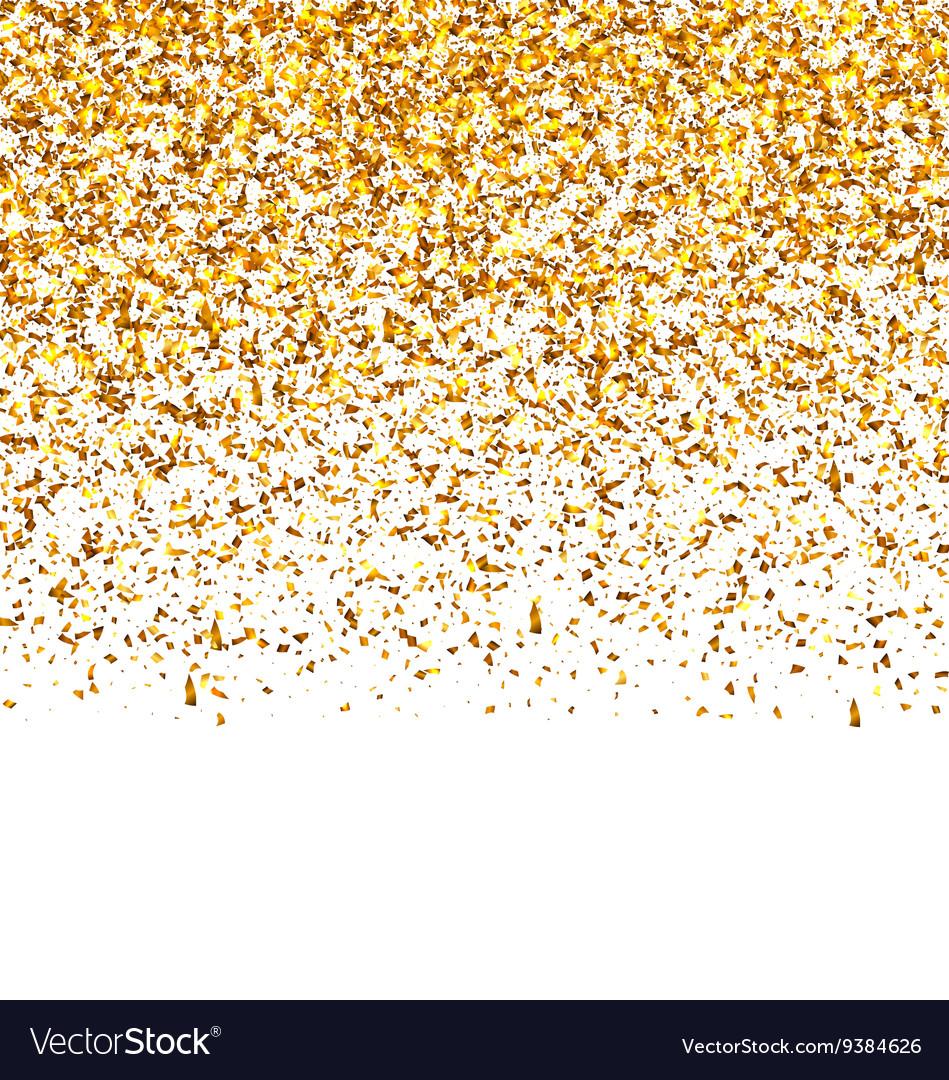 Golden Explosion of Confetti