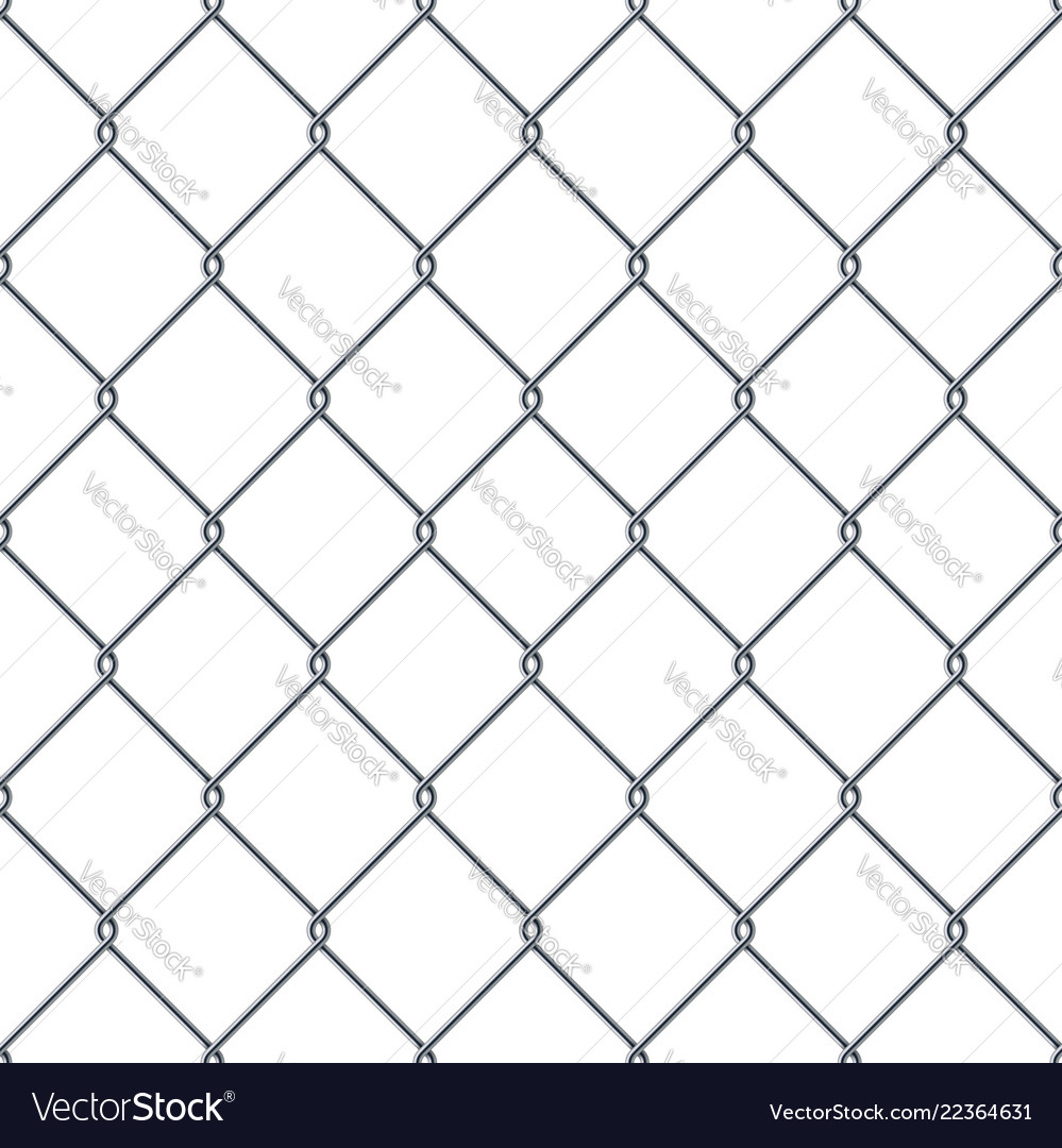 Fence made of metal wire