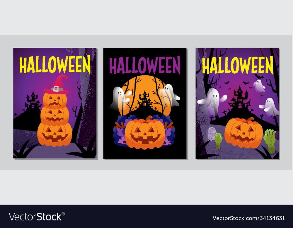 Halloween cover banner ghost scary spooky