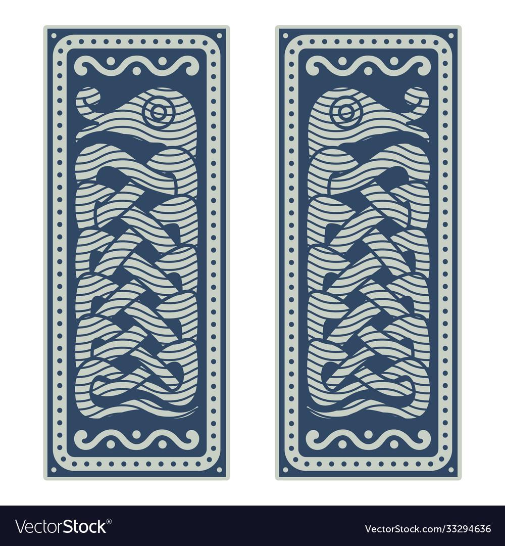 Mythological serpent jormungand
