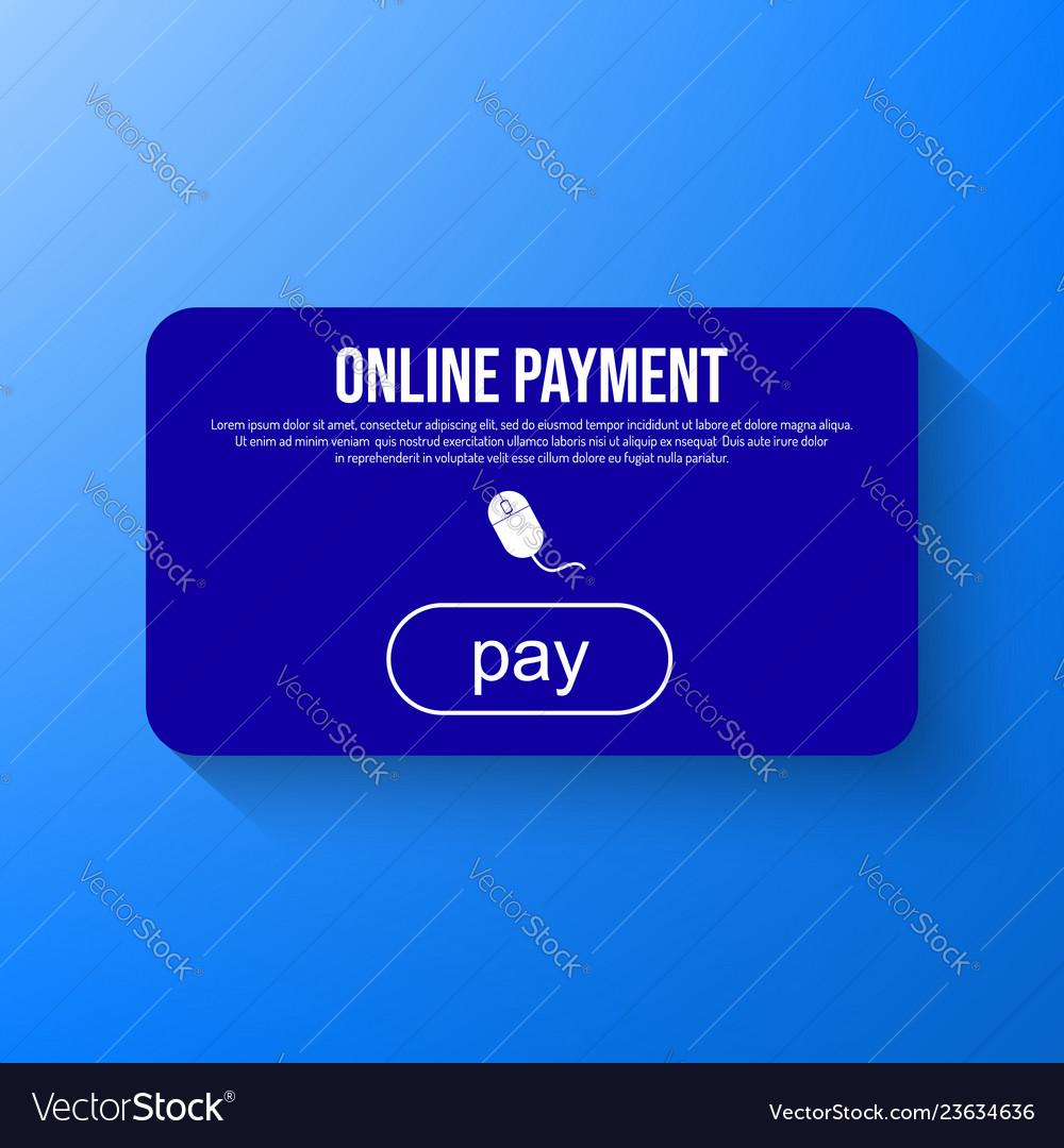 Online payment via internet services