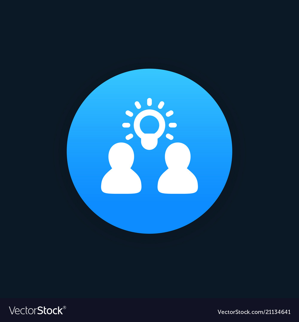 Idea insight brainstorm icon