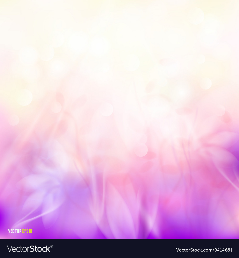 Abstract sunshine colorful floral flow background