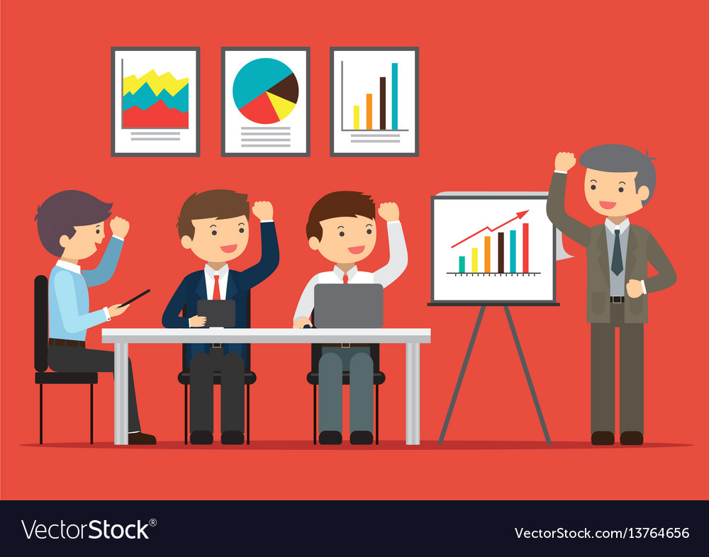 Business excellence vector image