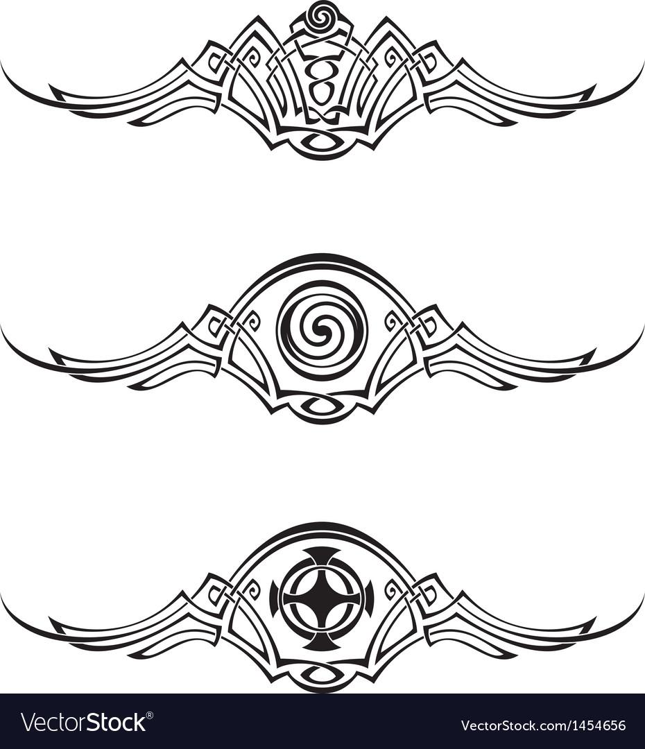 Celtic style patterns
