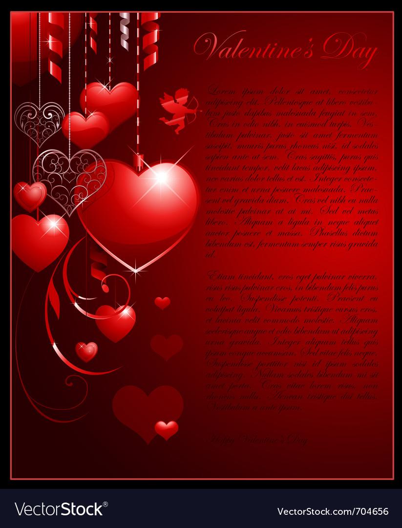 Valentines day concept background