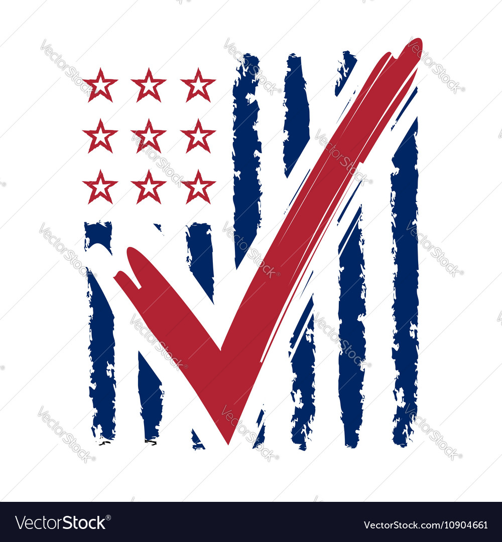 Presidential election usa sign