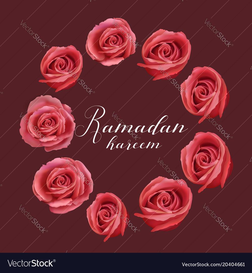ramadan mubarak royalty free vector image vectorstock