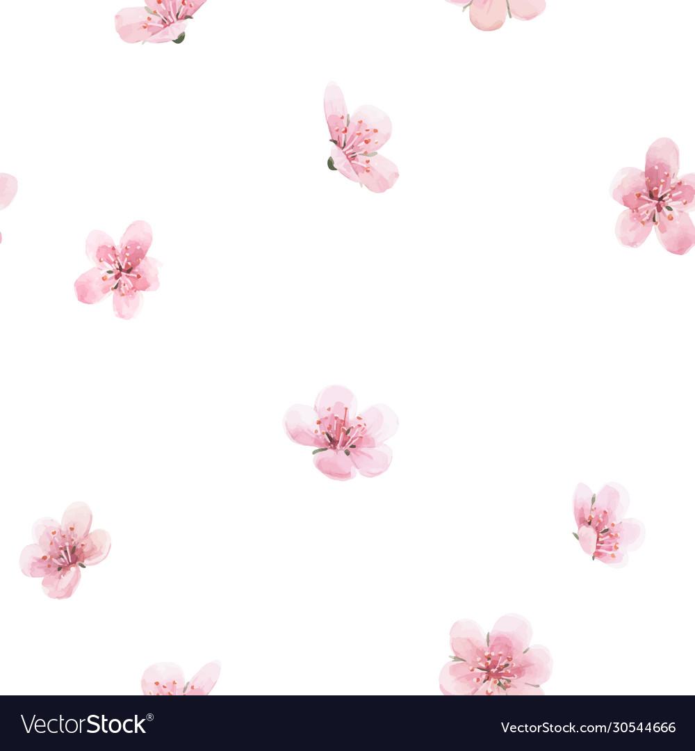 Beautiful floral summer seamless pattern