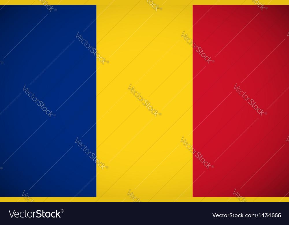 National flag romania