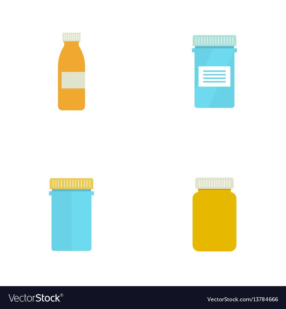 Pill bottle for capsules
