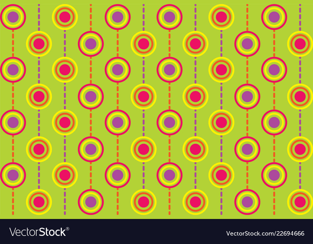 Seamless repeating background of multicolored