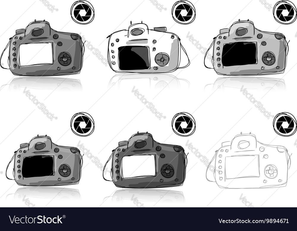 Camera set sketch for your design