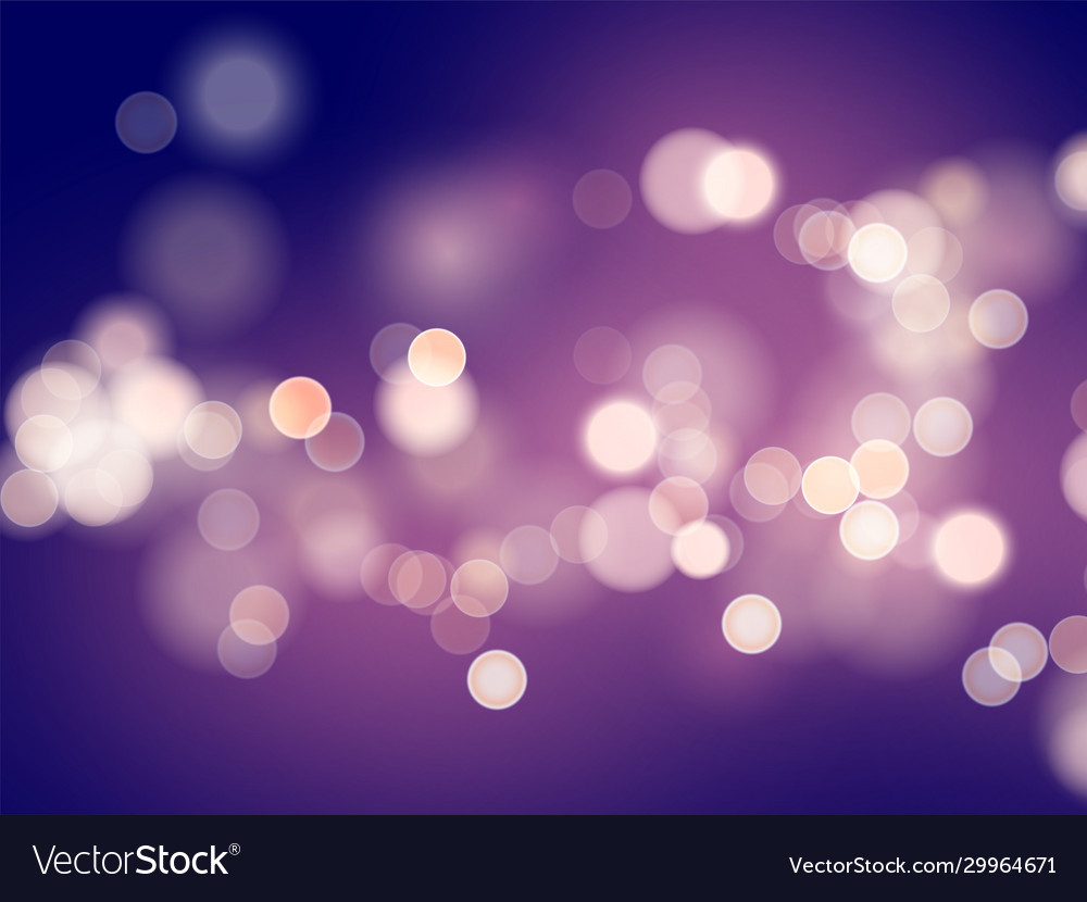 Dark purple background with blur and bokeh effect