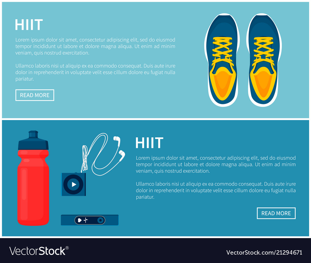 Hiit sportswear sport shoes and helpful gadgets