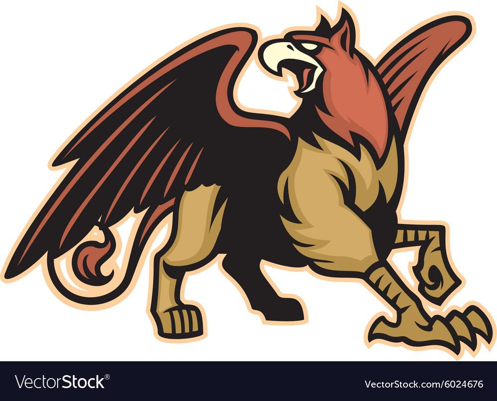 Griffin mythology creature mascot