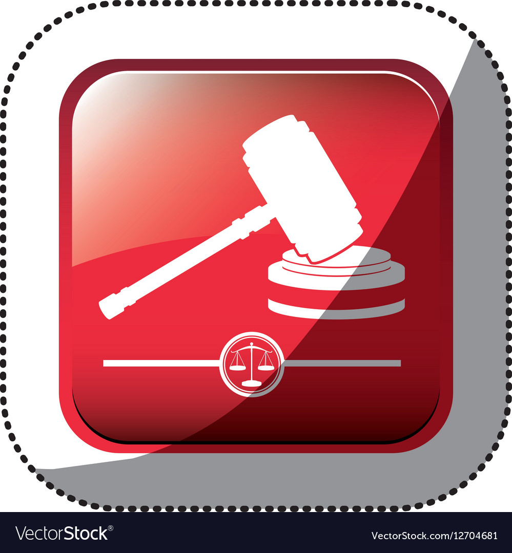 Gavel justice and law concept