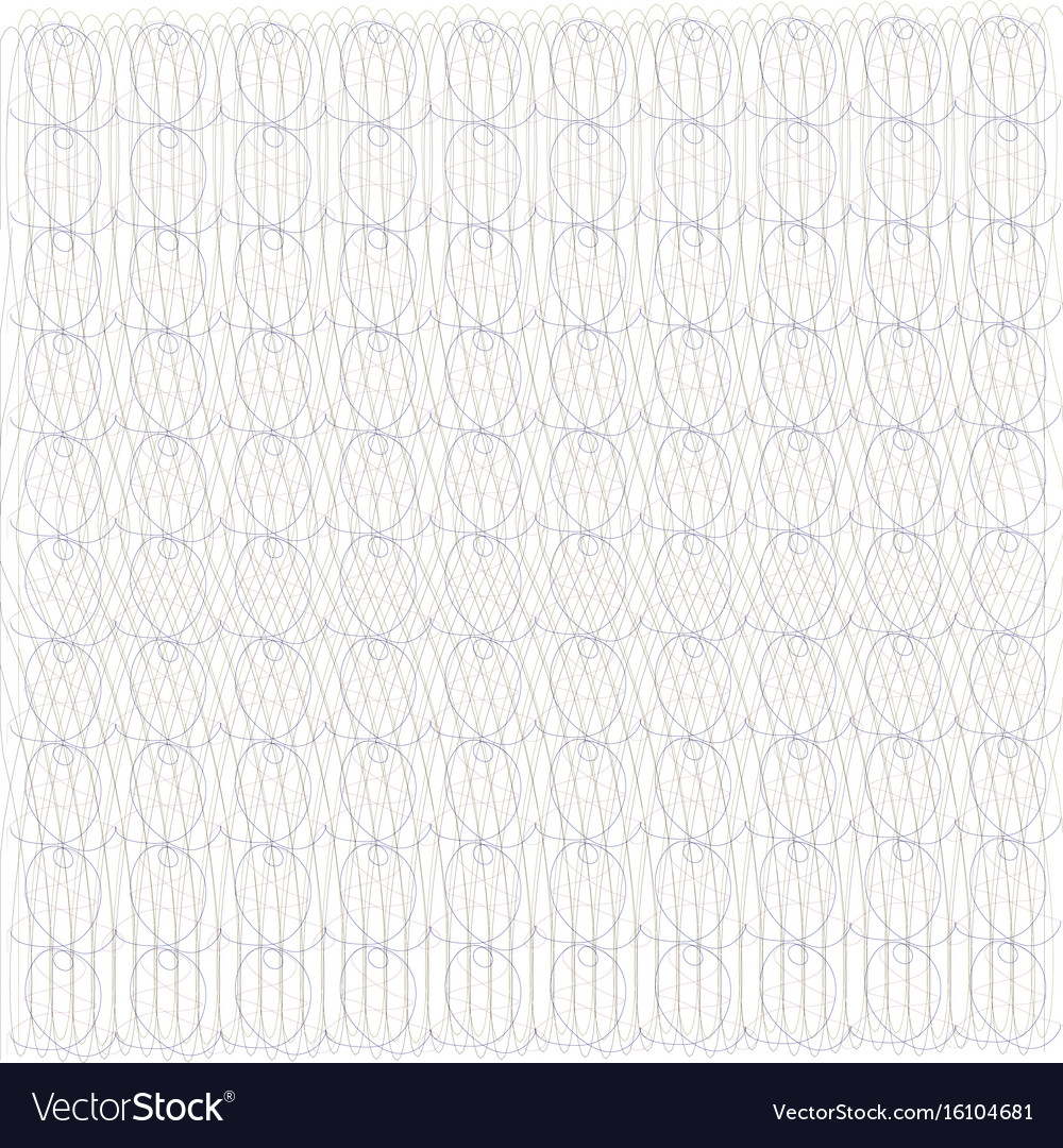 Guilloche design for background certificate vector image