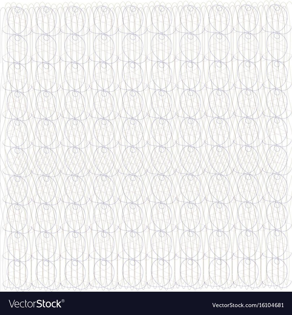 Guilloche design for background certificate