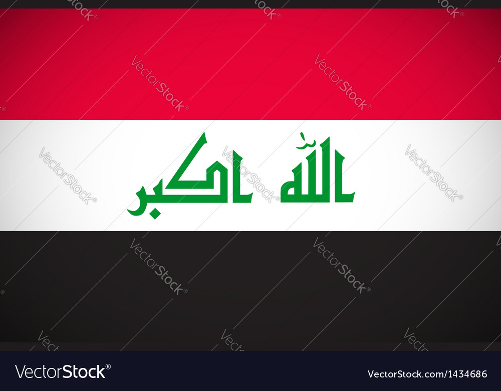 National flag iraq