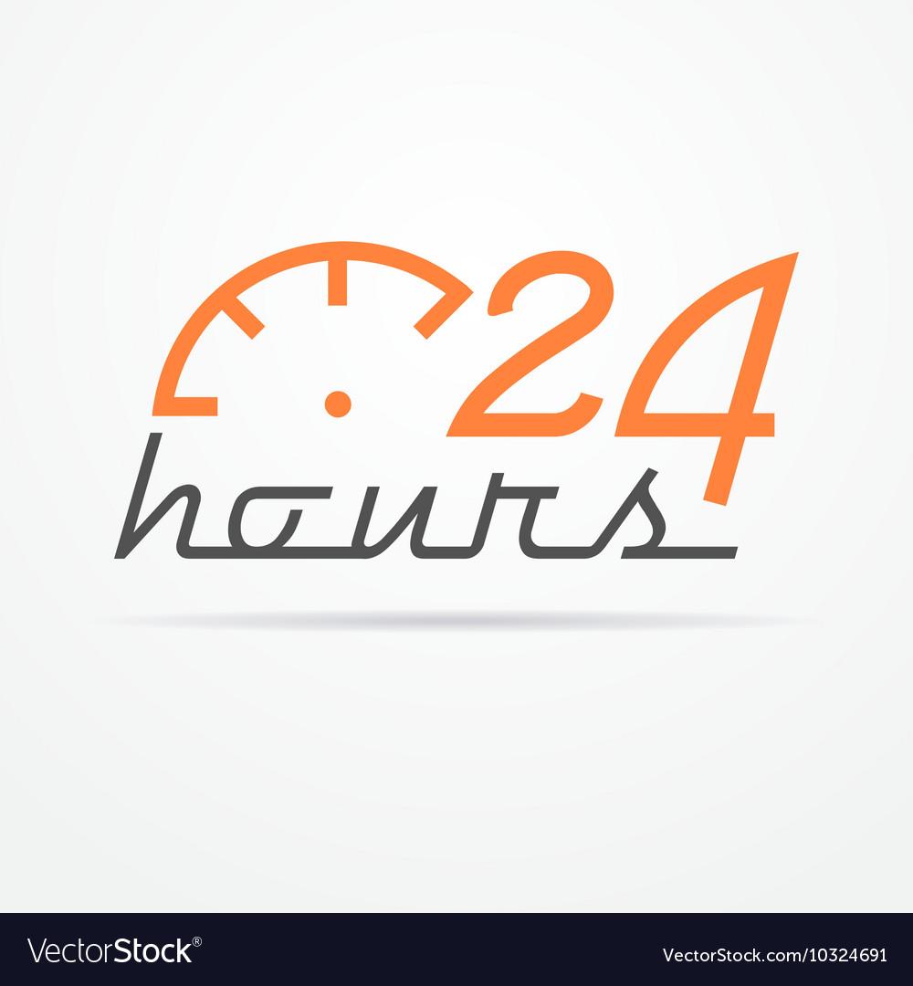 Twenty four hours label