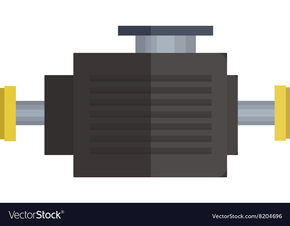 Engine icon car motor graphic symbol