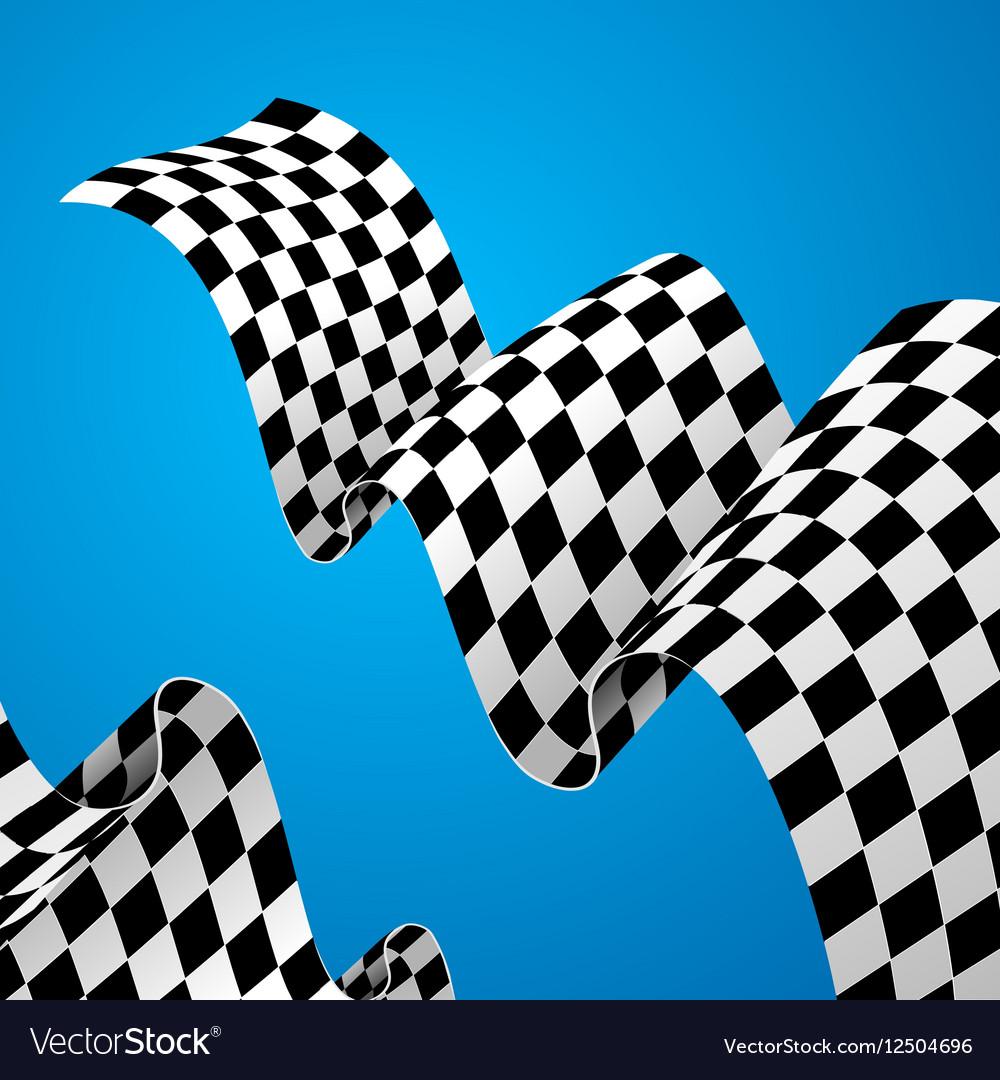 Racing Flag Background