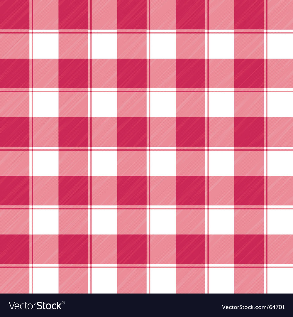 Checked weave vector image