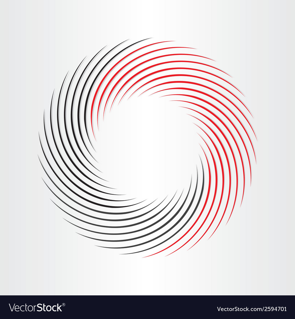 Decorative circle abstract frame icon