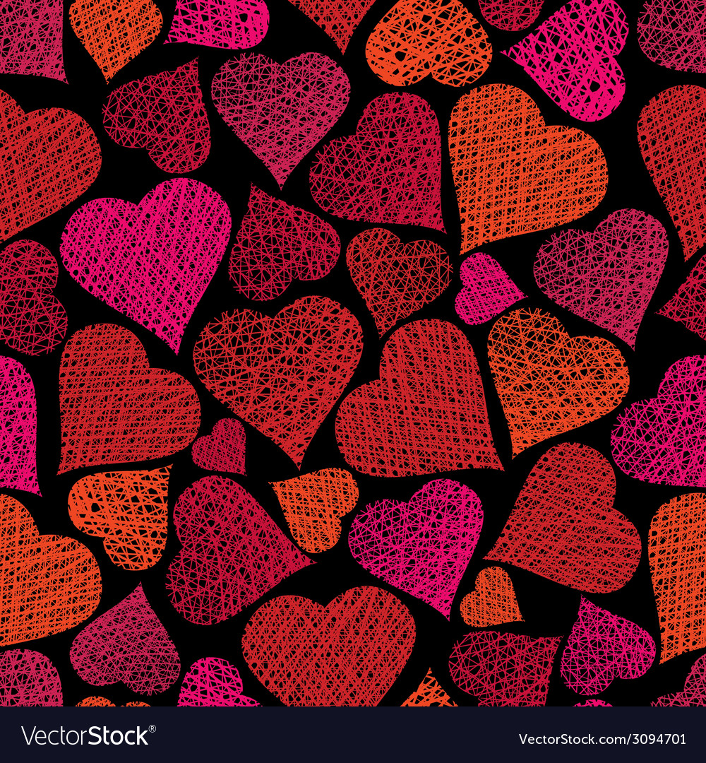Love theme seamless background hearts seamless