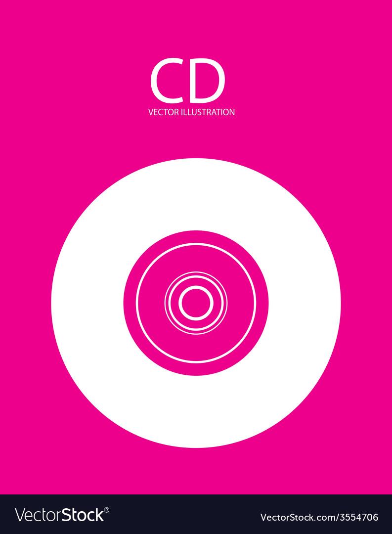 Cd icon design