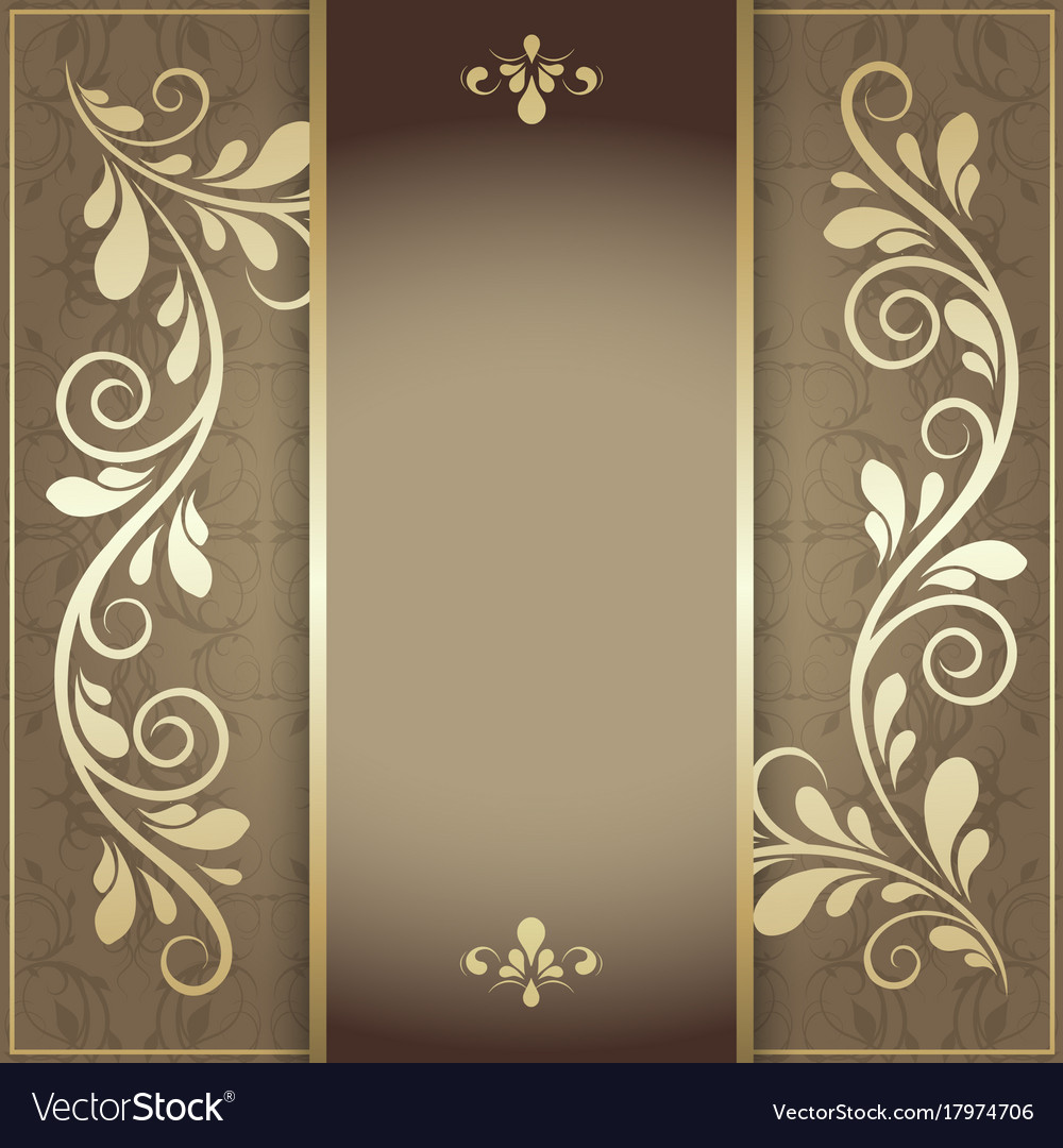 Luxury background for the menu and invitation card