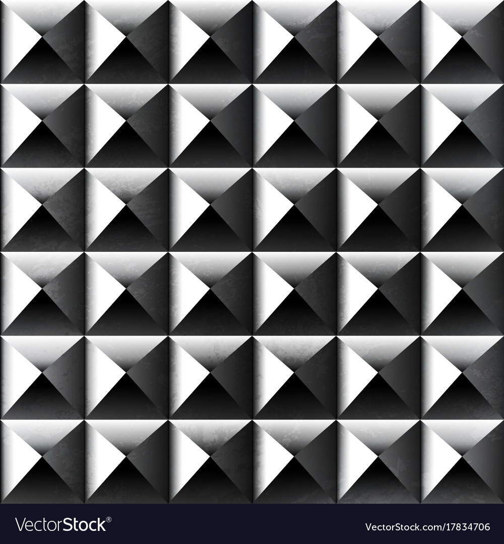 Metal color square pattern vector image
