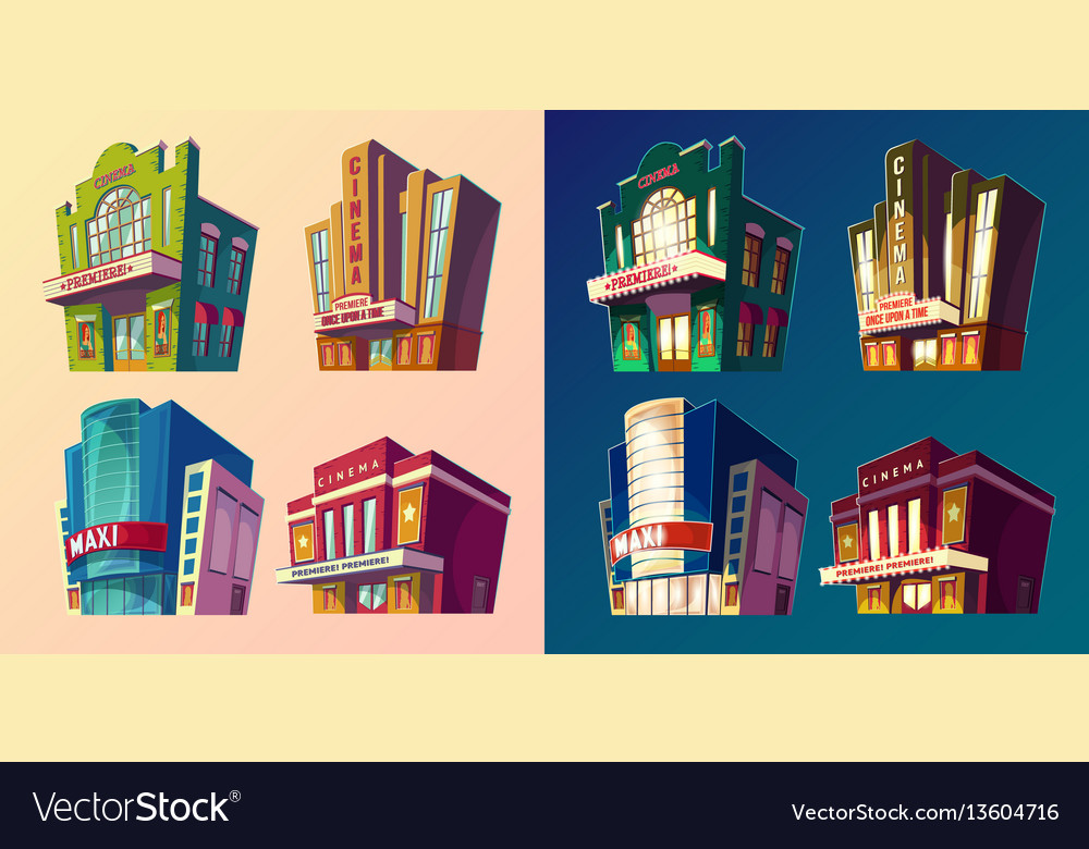 Set of isometric of buildings