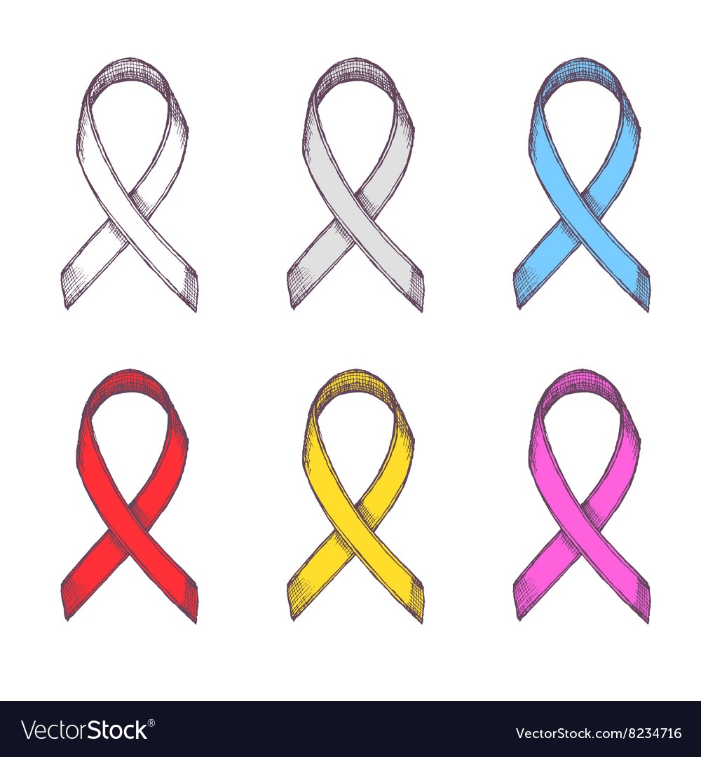 Support ribbons set