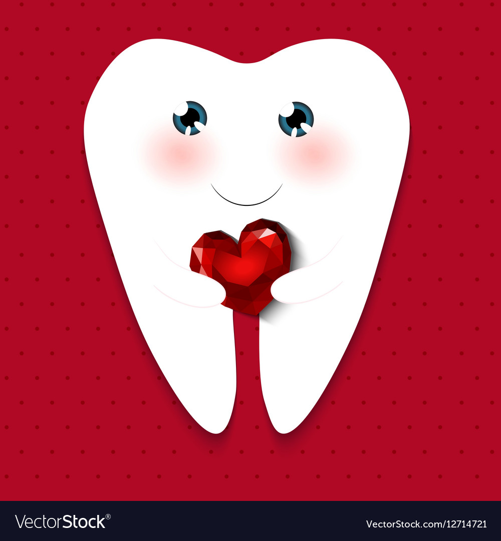 Cute greeting card Happy Dentist Day