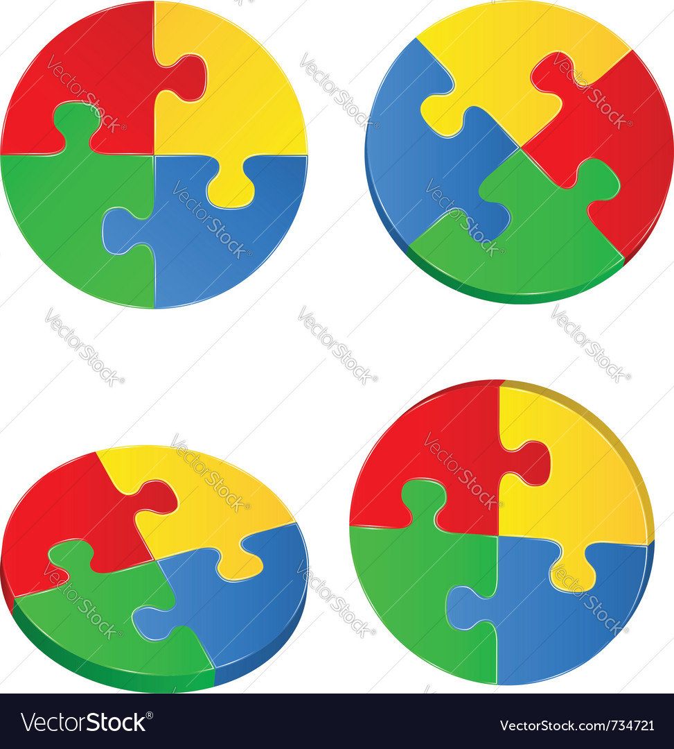 Puzzle circles